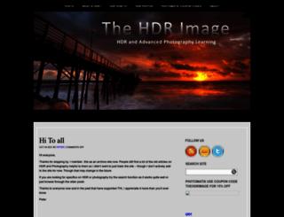 thehdrimage.com screenshot
