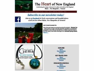 theheartofnewengland.com screenshot