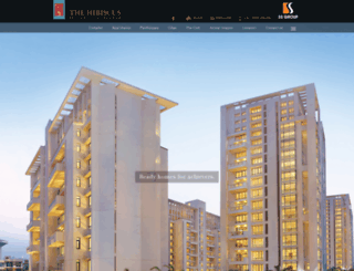 thehibiscusindia.com screenshot