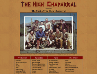thehighchaparral.com screenshot