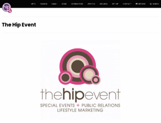 thehipevent.com screenshot