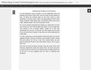theholidayspot.blogspot.com screenshot