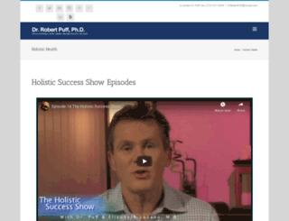 theholisticsuccessshow.com screenshot