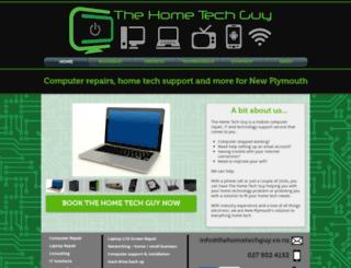 thehometechguy.co.nz screenshot