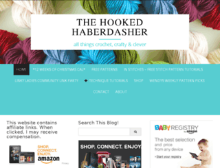 thehookedhaberdasher.com screenshot