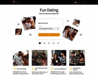 thehookupdinner.co.za screenshot
