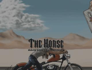 thehorsebc.com screenshot