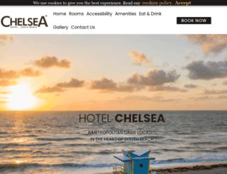 thehotelchelsea.com screenshot