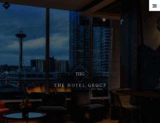 thehotelgroup.com screenshot