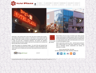 thehotelplaza.com screenshot