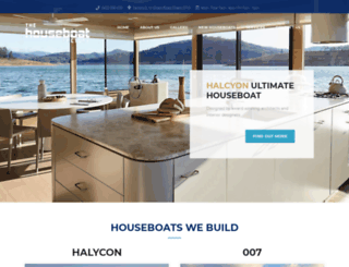 thehouseboatfactory.com.au screenshot