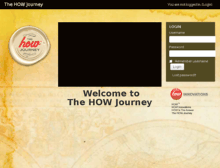 thehowjourney.org screenshot