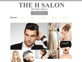 thehsalon.com screenshot