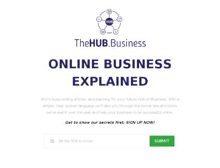 thehub.business screenshot