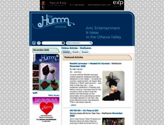 thehumm.com screenshot