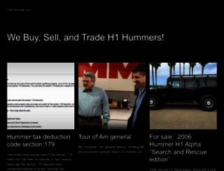 thehummerguy.com screenshot