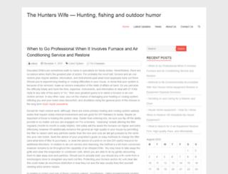 thehunterswife.net screenshot
