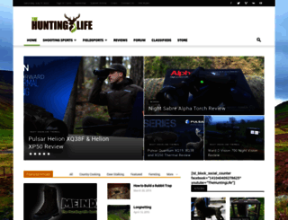 thehuntinglife.com screenshot