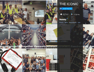 theiconic.namely.com screenshot