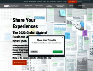 theiiba.org screenshot