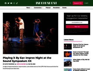 theindependent.ca screenshot