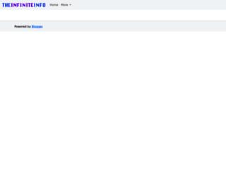 theinfiniteinfo.com screenshot