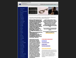 theinmatelocator.com screenshot