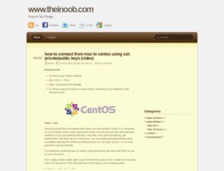 theinoob.com screenshot