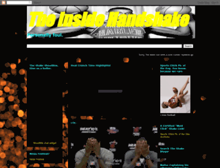 theinsidehandshake.blogspot.com screenshot
