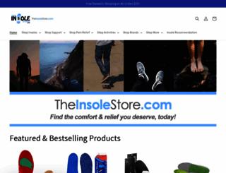 theinsolestore.com screenshot