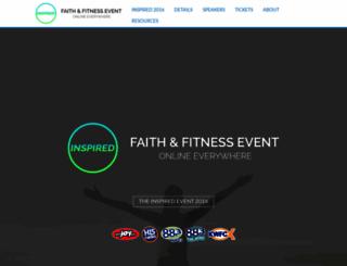 theinspiredevent.com screenshot