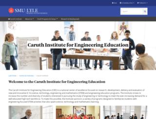 theinstitute.smu.edu screenshot