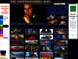 theinternationalman.com screenshot
