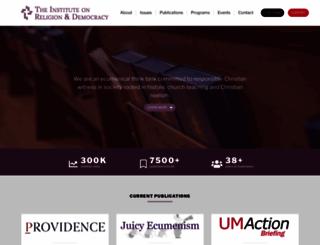 theird.org screenshot