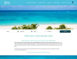 theislandsclub.com.ky screenshot