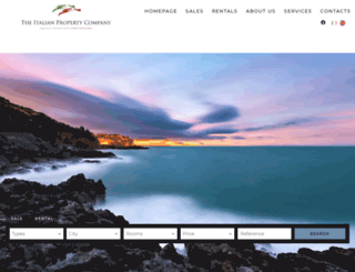 theitalianproperty.com screenshot