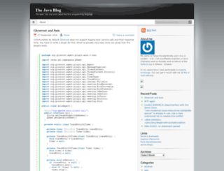 thejavablog.wordpress.com screenshot