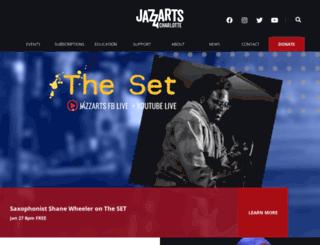 thejazzarts.org screenshot