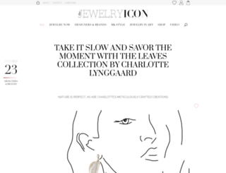 thejewelryicon.com screenshot