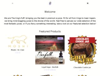 thekingspuff.com screenshot