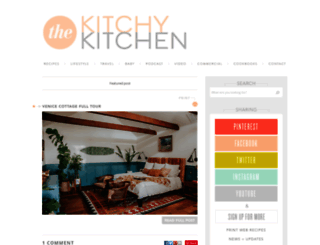 thekitchykitchen.com screenshot