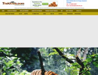 thekkady.com screenshot