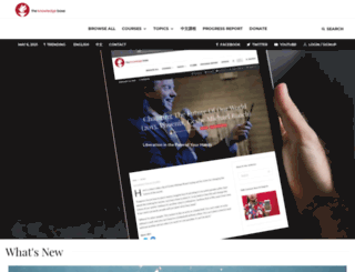 theknowledgebase.com screenshot