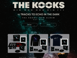 thekooks.com screenshot