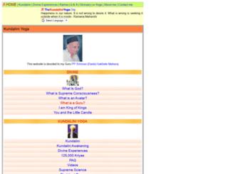 thekundaliniyoga.org screenshot