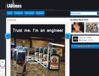 theladtimes.com screenshot