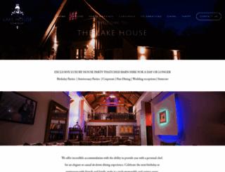 thelakehousesomerset.co.uk screenshot