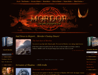 thelandofshadow.com screenshot