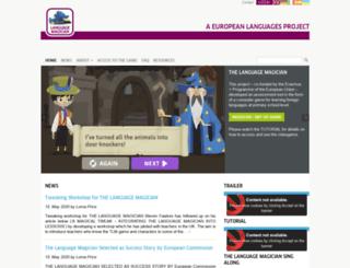 thelanguagemagician.net screenshot