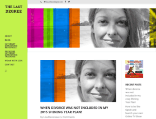 thelastdegree.com screenshot